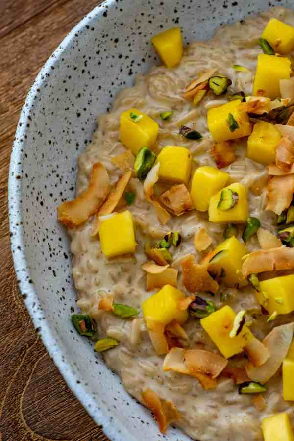 Vanilla Coconut Rice Pudding - AnotherFoodBlogger | Recipes