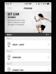 NikeTrainingClub-Program
