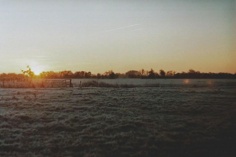 Winter Sunrise   another reverie