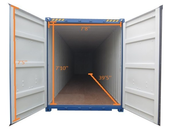 40SD new container inside dimensions