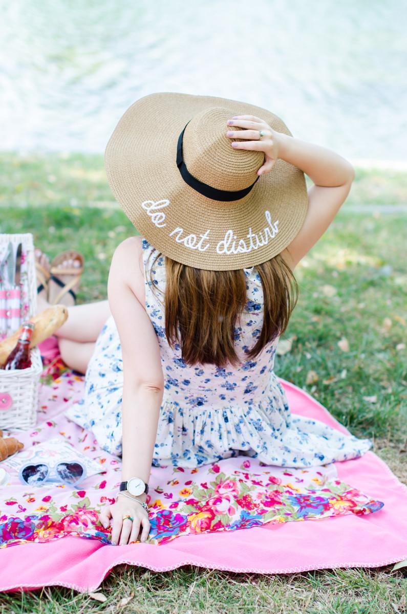 sammy dress do not disturb sun hat