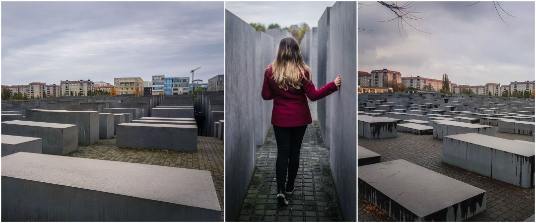 The Memorial to the Murdered Jews of Europe- Holocaust Memorial