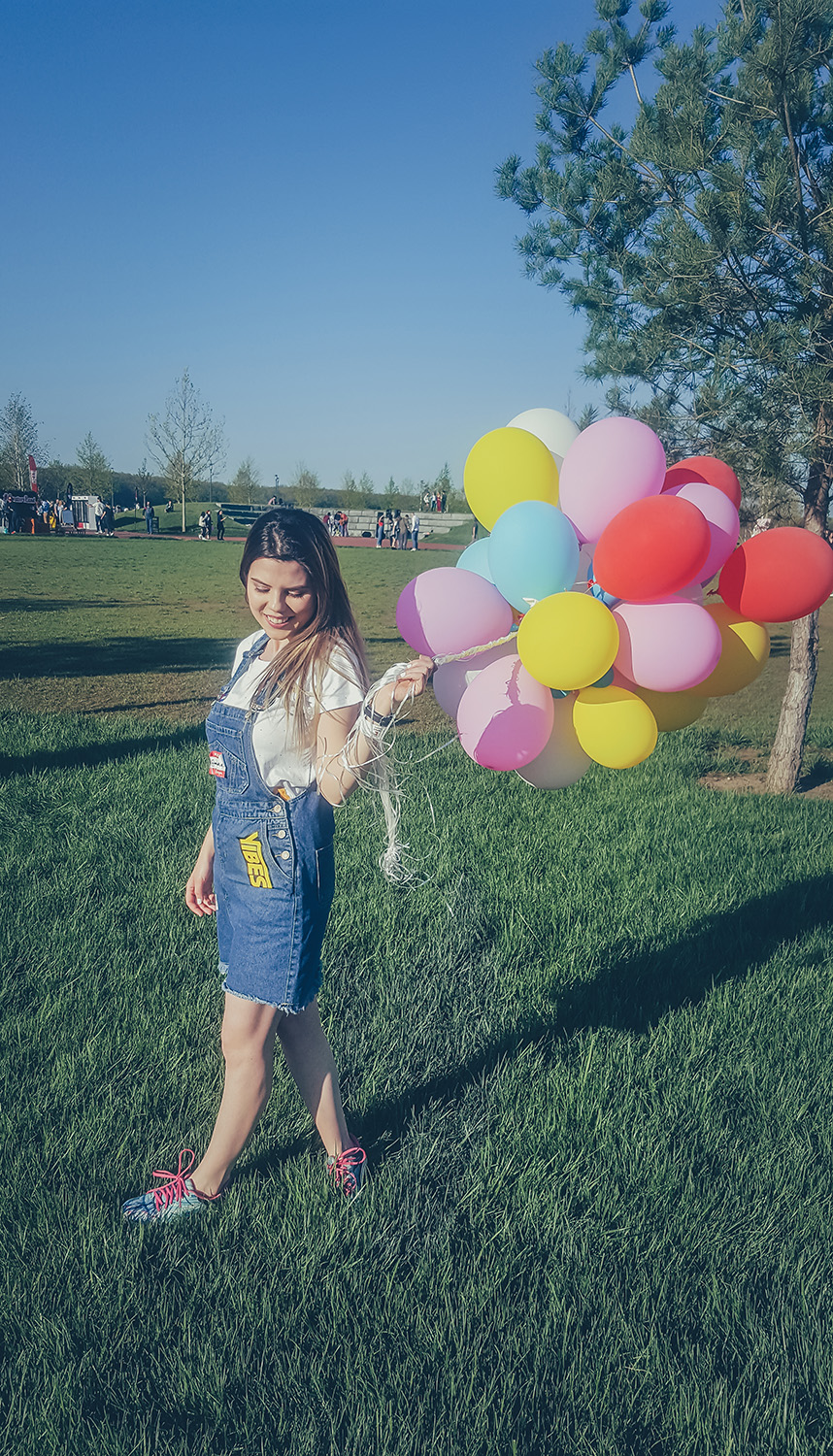 colorful baloons