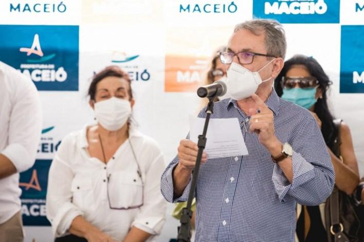 Secretário Pedro Vieira (Sedet). Foto: Edvan Ferreira/ Secom Maceió