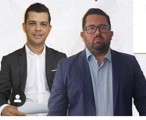 Flávio Ribeiro e David Noberto
