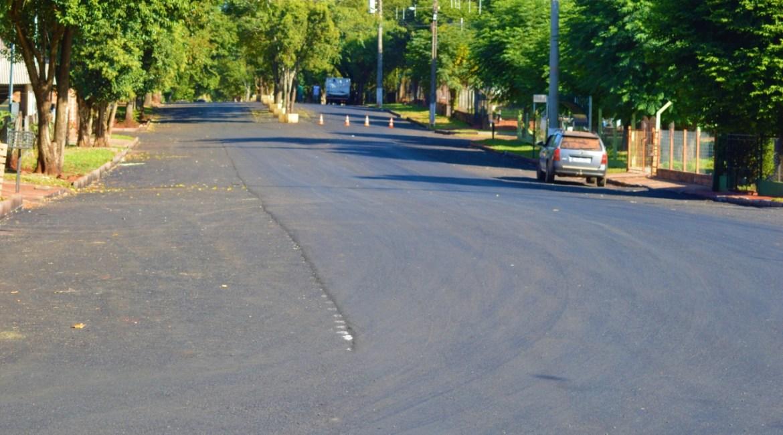 Pavimentação asfáltica em Catuípe segue em ritmo acelerado