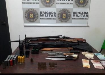 BM de Catuípe prende três homens no interior do município