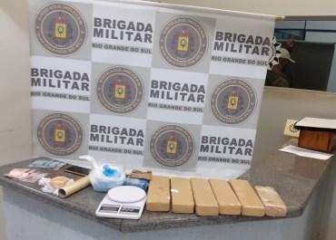 BM prende homem por tráfico de entorpecentes em Catuípe