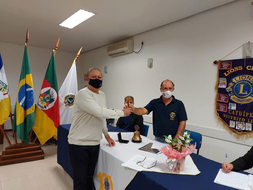 Posse da nova diretoria do Lions Clube de Catuípe