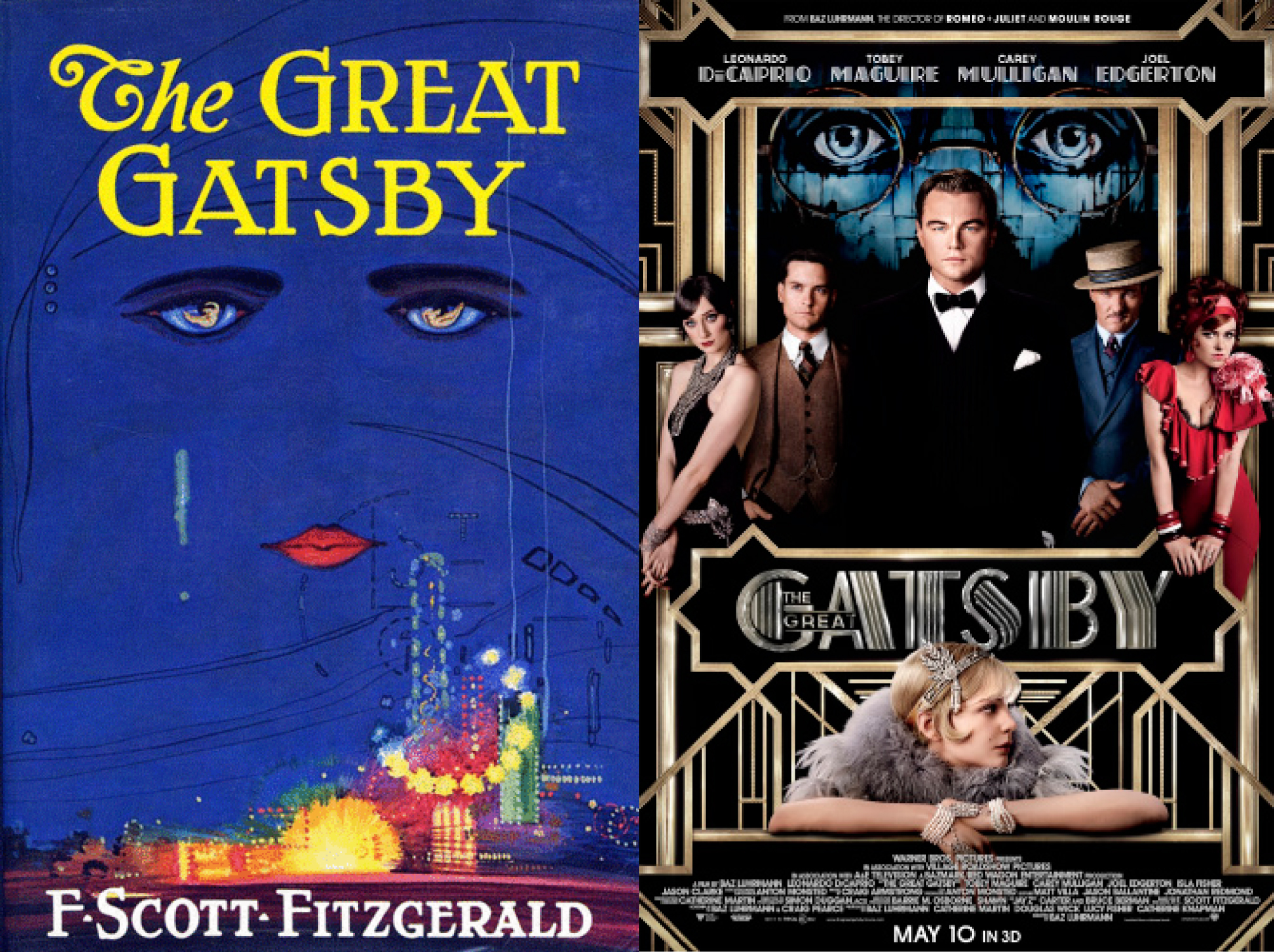 Novel Film Review The Great Gatsby