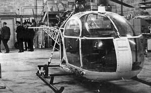 The helicopter used in the spectacular escape