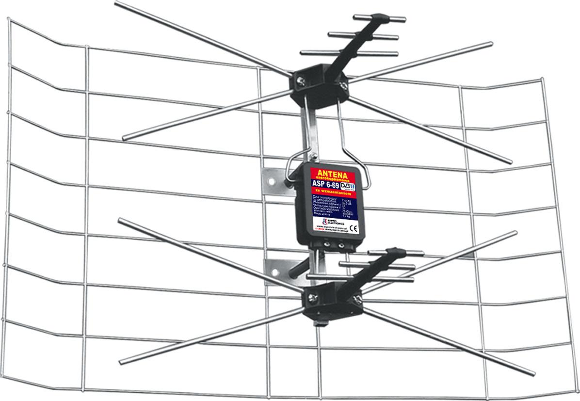 Antena Tv Kpl 3dx Mini A Anprel Sklep