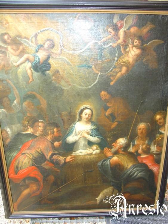 Ref. 10 - Antwerps schilderij 17e eeuws