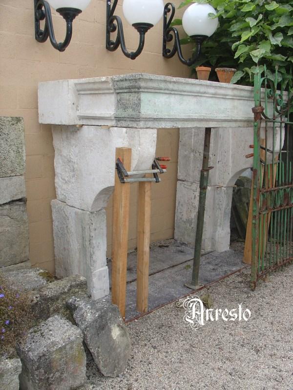 Franse Bourgondische schouw
