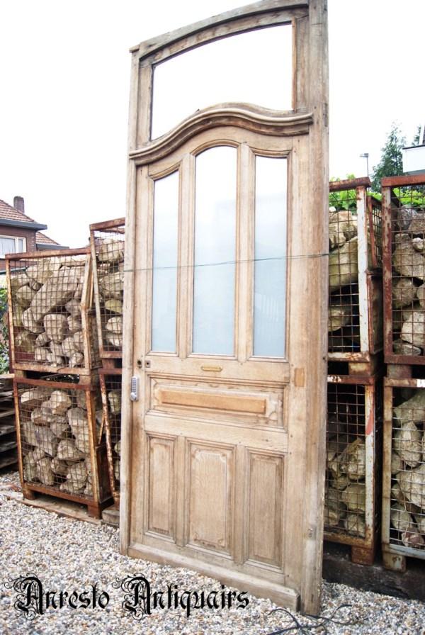 Ref. 16 – Antieke Noord Franse romantische buitendeur
