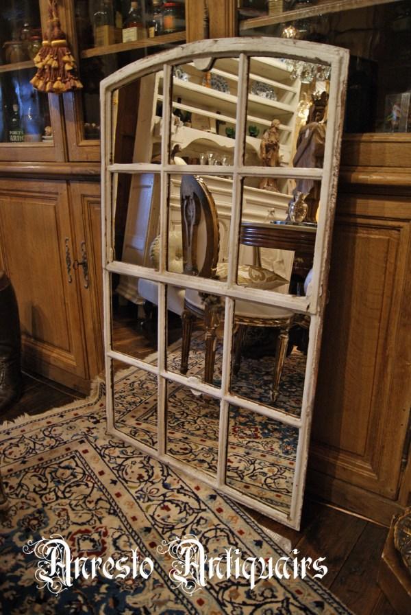 Ref. 21 – Oude gietijzeren raamkaders, oude ijzeren loftramen
