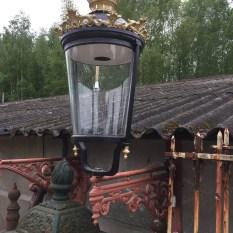 Ref. 04 - Antieke lampenkap, oude lantaarnkappen