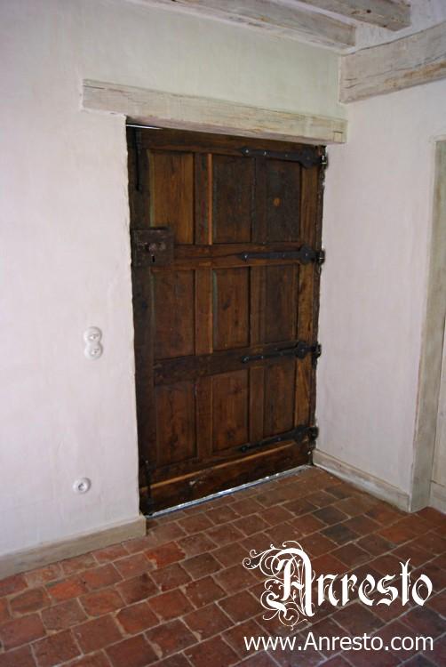 Ref. 22 – Antieke eiken deur, antieke vloer