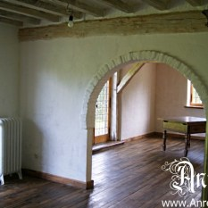 Ref. 24 – Antieke vloer, gerestaureerd historisch vakwerkhuis