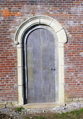Ref. 08 – Afgeronde buitendeur in eik