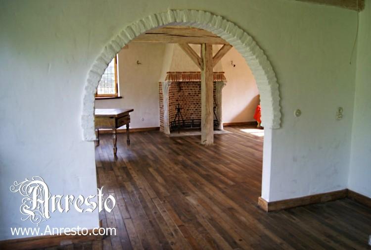 Ref u massieve eiken vloer de eeuws huis te koop anresto decor