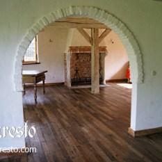 Ref. 09 – Massieve eiken vloer 18de eeuws huis te koop
