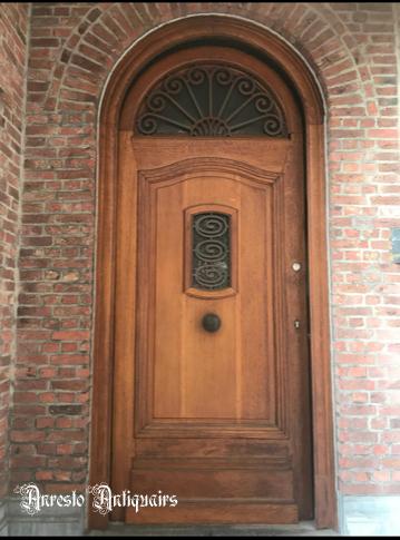 Ref. 56 – Eikenhouten voordeur, eikenhout buitendeur