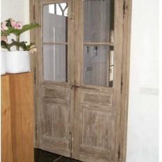 Ref. 58 – Exclusieve deur wordt op uw maat gemaakt met oud hout