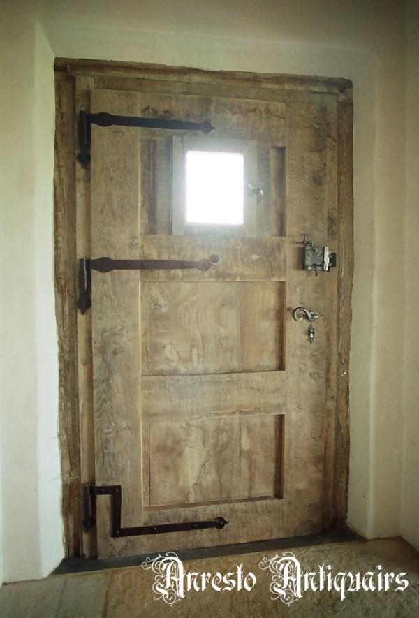 Ref. 74 – Exclusieve deur wordt op uw maat gemaakt met oud hout