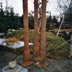 Ref. 11 – Antieke gietijzeren zuilen, oude ijzeren zuilen