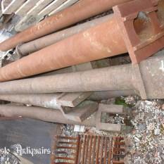 Ref. 06 – Antieke gietijzeren zuilen, oude ijzeren zuilen
