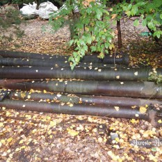 Ref. 09 - Antieke gietijzeren zuilen, oude ijzeren zuilen