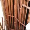 Ref. 62 – Opvouwbare smeedijzeren beveiligingshekken foto 2