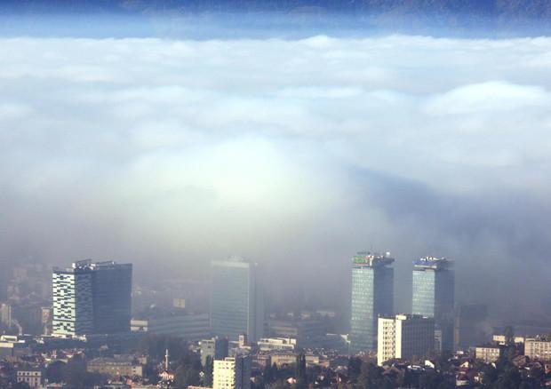 Clima, intesa al summit Ue per il taglio del 55% delle emissioni entro il 2030 © EPA