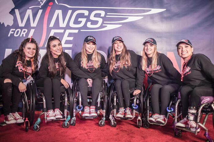 Risultati immagini per le Rollettes: ballerine in sedia a rotelle