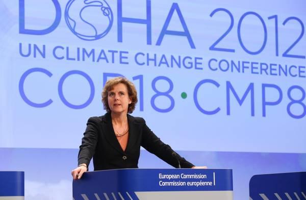 L'ex commissaria Ue Connie Hedegaard