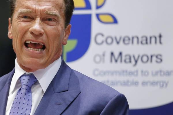 Schwarzenegger, alleanza con Ue contro febbre pianeta