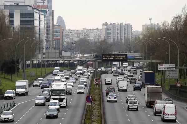 Smog a Parigi