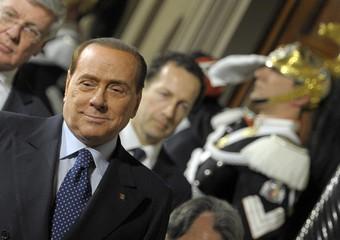 Berlusconi dopo colloquio con Napolitano