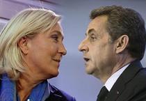 Le Pen - Sarkozy (ANSA)