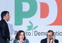 Matteo Renzi all'assemblea Pd (ANSA)