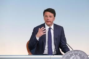 ++ Renzi,fatti gravi ma paese non in stato terrore ++ (ANSA)