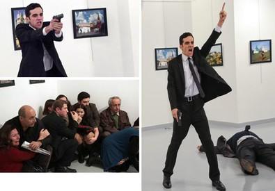 Una sequenza delle immagini dell'attentato ad Ankara, in Turchia (ANSA)