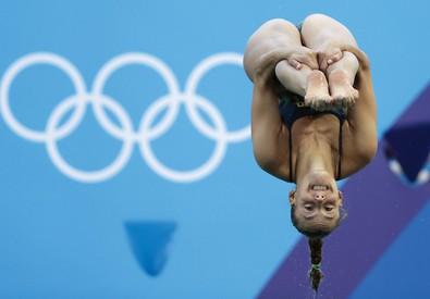 Una foto di Tania Cagnotto alle Olimipiadi 2016 (ANSA)