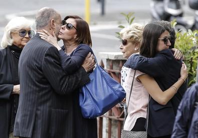 Funerali di Letizia Laurenti, vedova Enrico Berlinguer (ANSA)