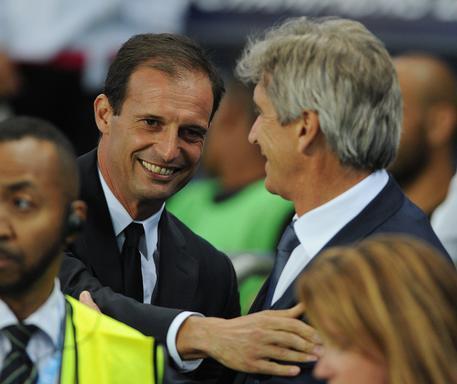 Manchester City-Juventus © EPA
