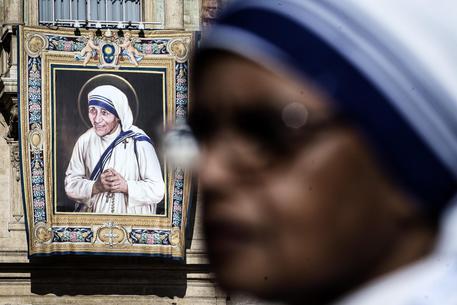 La canonizzazione di Madre Teresa di Calcutta © ANSA