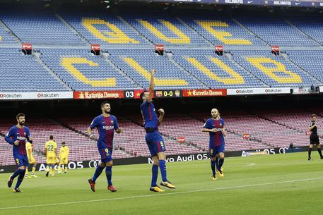 Barcellona-Las Palmas si gioca a porte chiuse © EPA