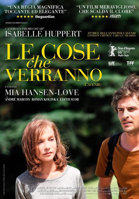 Isabelle Huppert in Le cose che verranno (L'Avenir) © ANSA