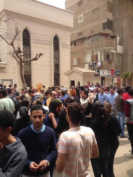 Egitto, strage nella Domenica delle Palme © AP